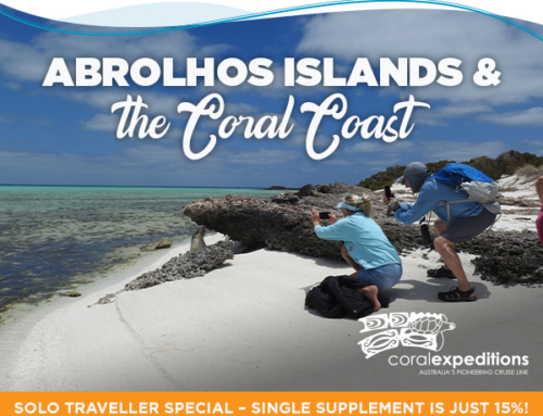 Abrolhos Islands and the Coral Coast – special solo traveller savings!